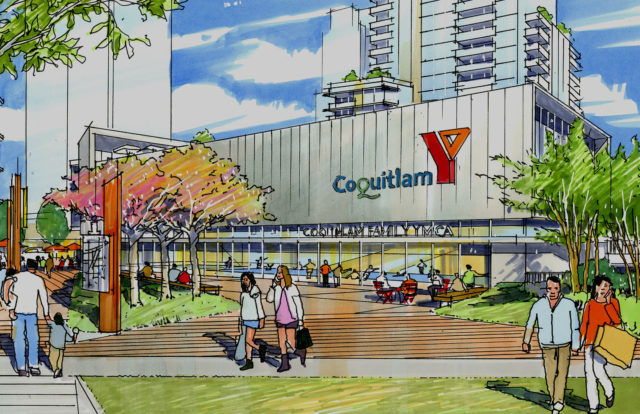 New Coquitlam YMCA project