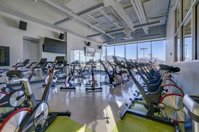 Chilliwack YMCA cycle fit studio