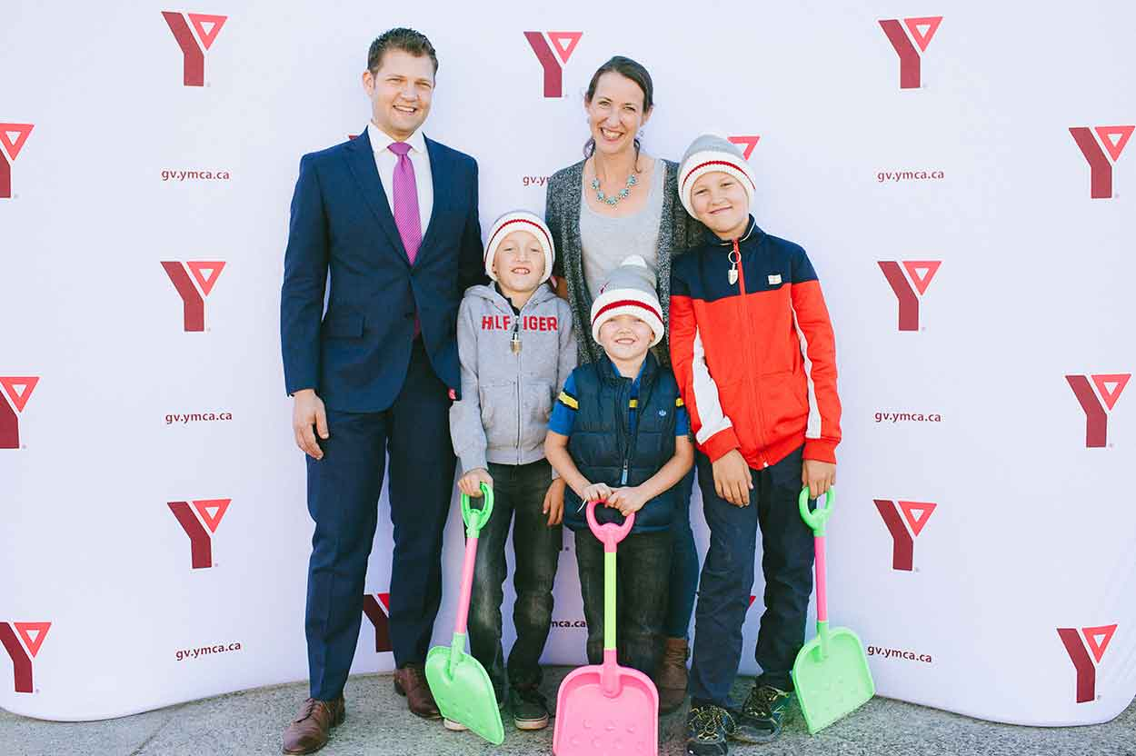 Chilliwack YMCA donors and volunteers, Mejlholm family