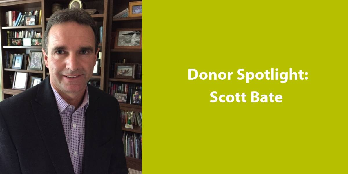 YMCA donor Scott Bate