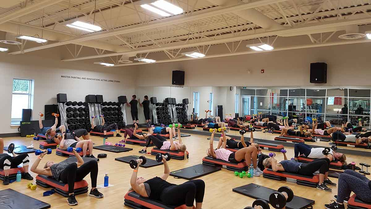 Body Blast group in Master Painting and Renovations Active Living Studio