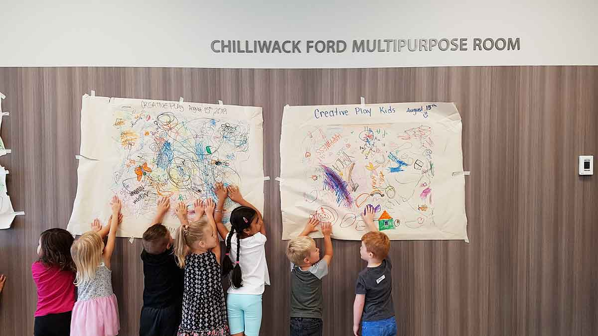 Chilliwack Ford Multipurpose room in the Chilliwack YMCA