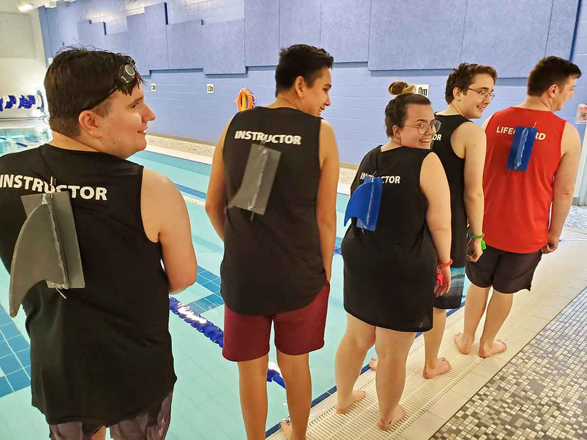 Chilliwack YMCA swim instructors