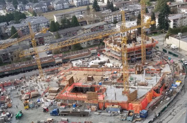 Coquitlam YMCA Construction Site